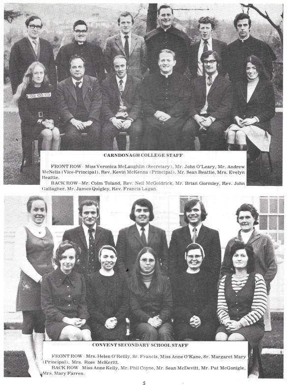 Carndonagh Staff Inis Duinn 1972-min