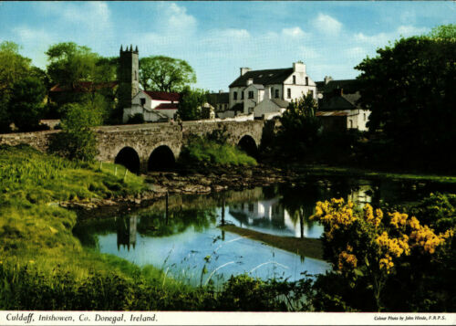 Culdaff Bridge Postcard